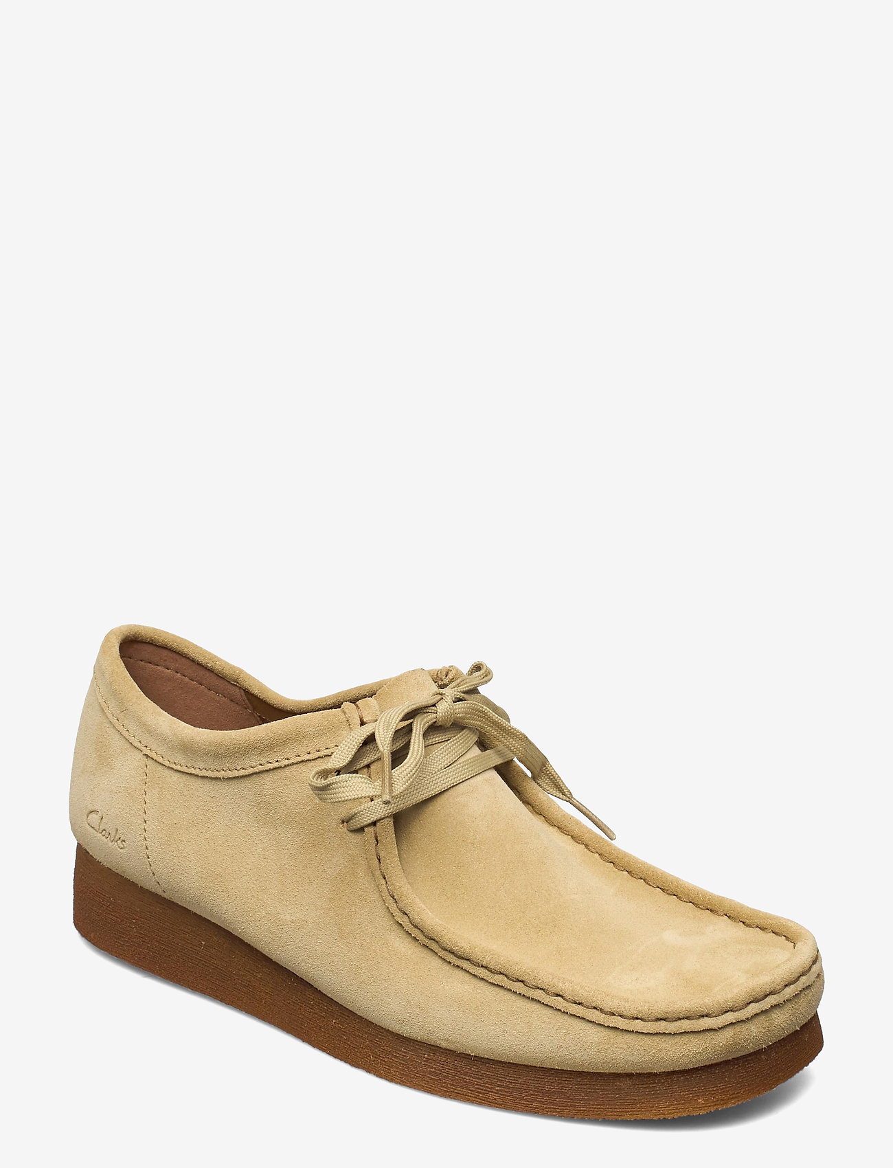 Clarks - Wallabee 2 - chaussure bateau - maple suede - 0