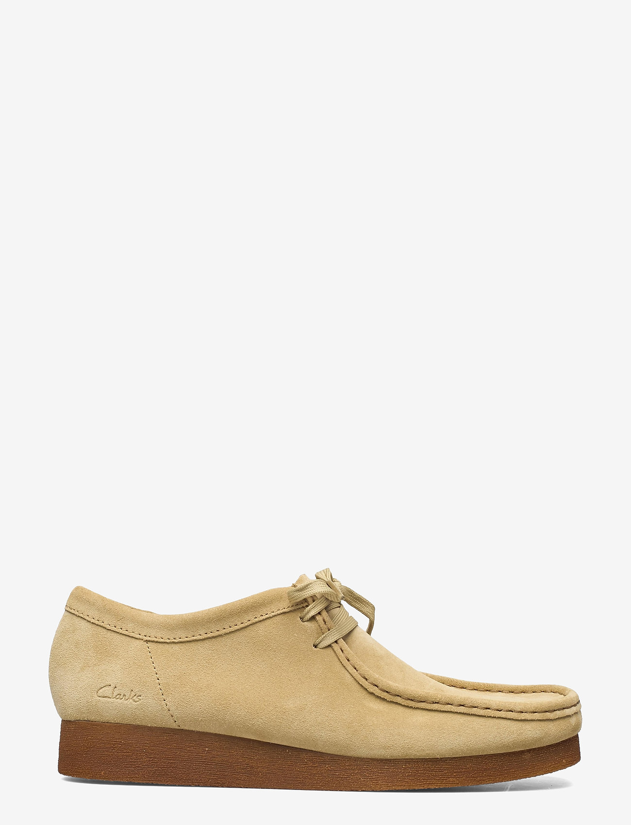 Clarks - Wallabee 2 - chaussure bateau - maple suede - 1