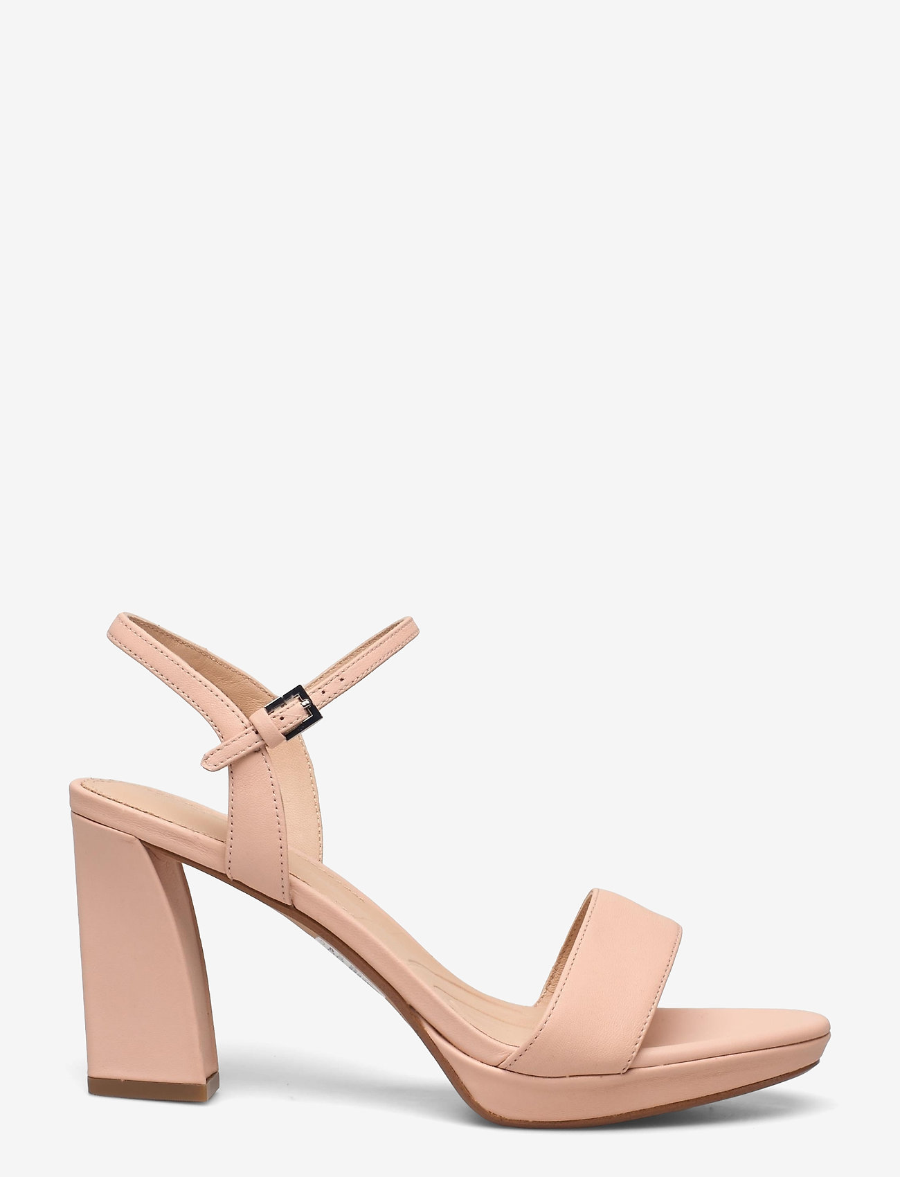 Clarks - Vista Strap - högklackade sandaler - light pink lea - 1