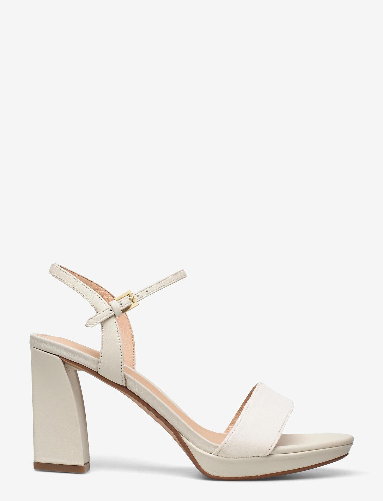 Clarks - Vista Strap - högklackade sandaler - white combi - 1