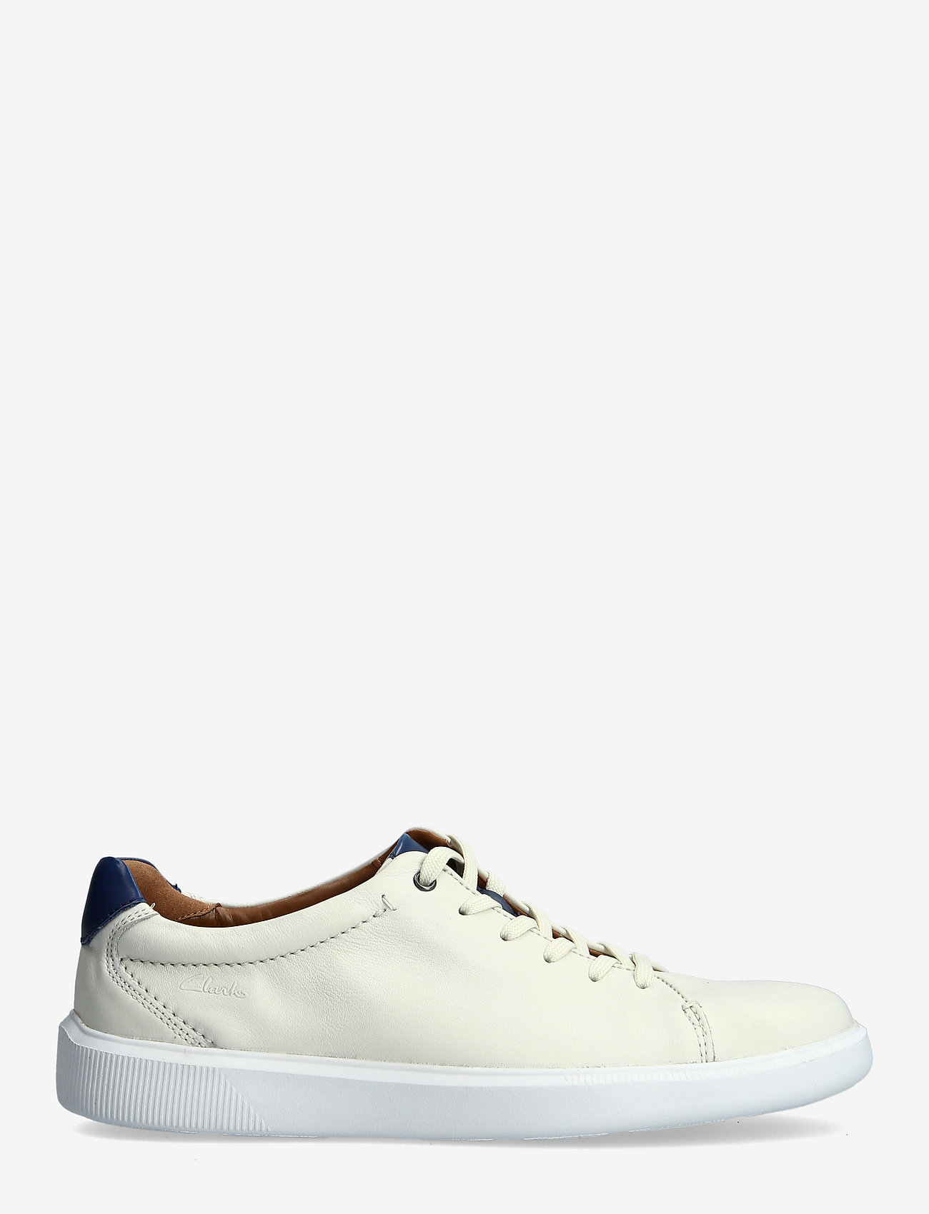 Clarks - Cambro Low - baskets basses - white leather - 1