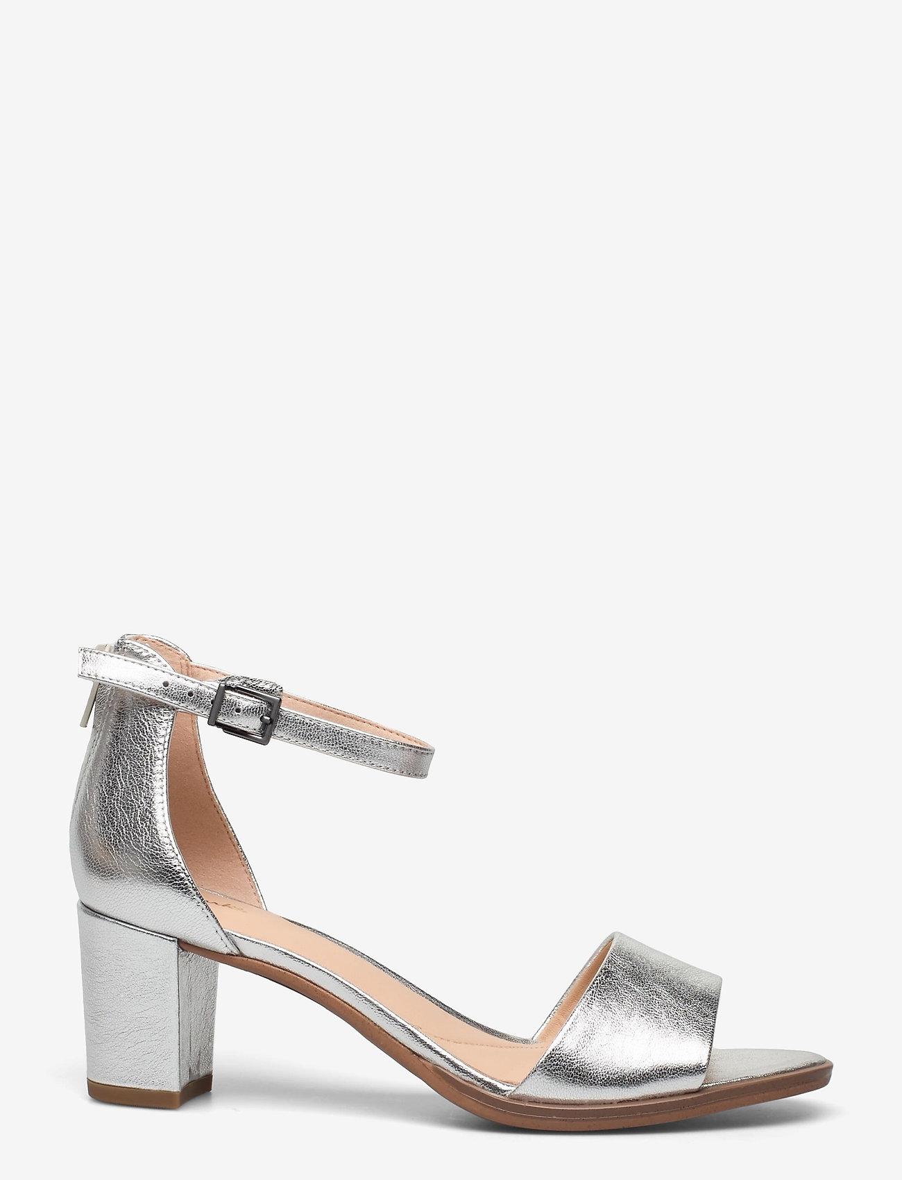Clarks - Kaylin60 2Part - högklackade sandaler - silver metallic - 1