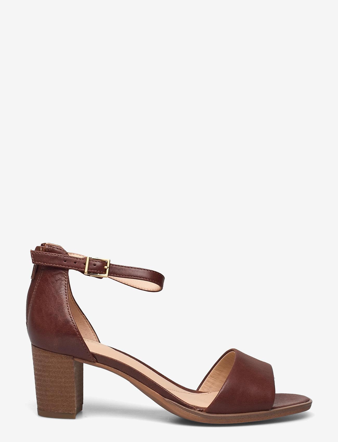 Clarks - Kaylin60 2Part - högklackade sandaler - tan leather - 1