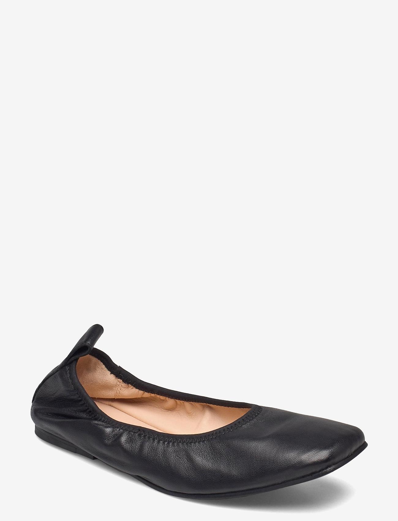 Clarks - Pure Ballet - ballerinas - black leather - 0