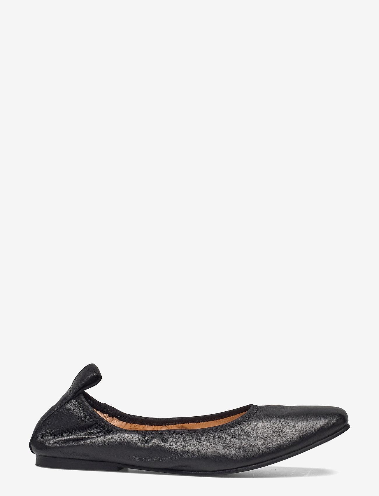 Clarks - Pure Ballet - ballerinas - black leather - 1