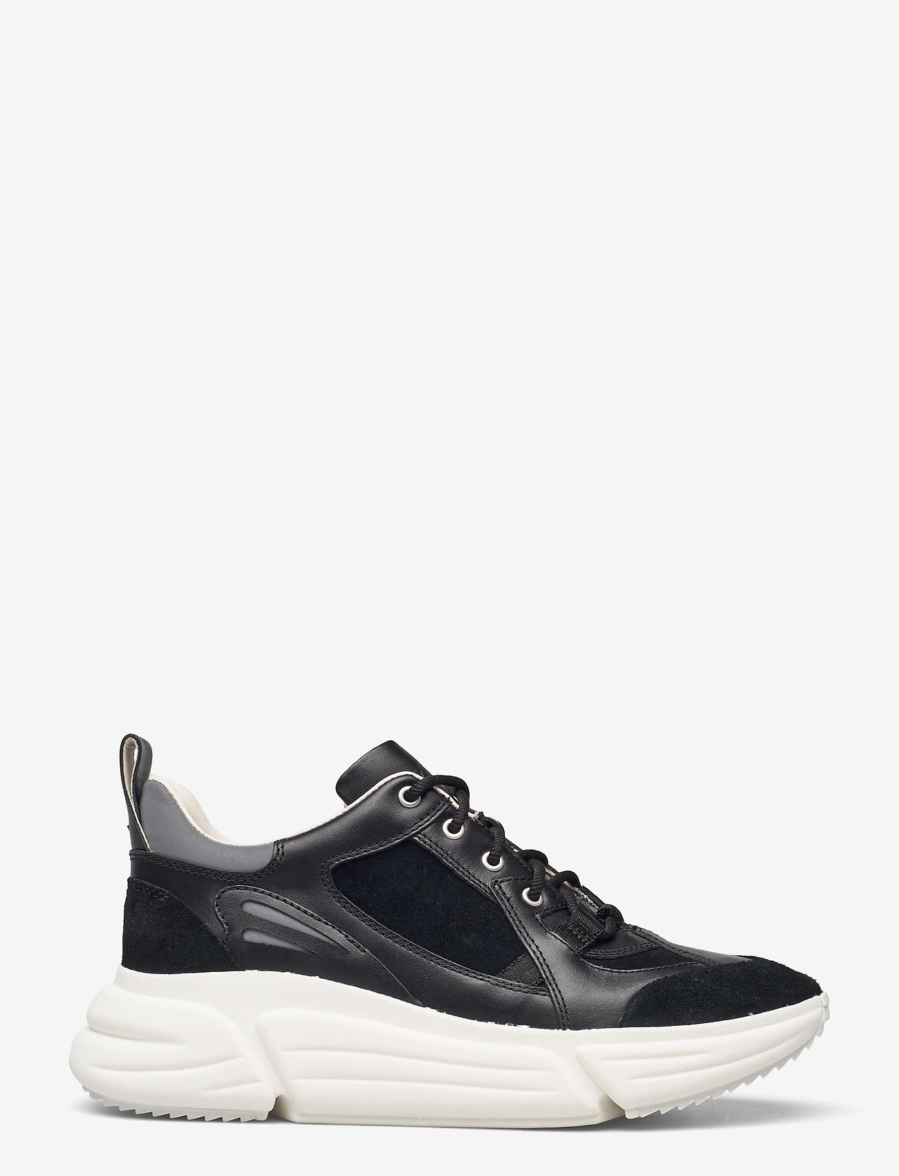 Clarks - TriComet Lace - chunky sneakers - black combi - 1