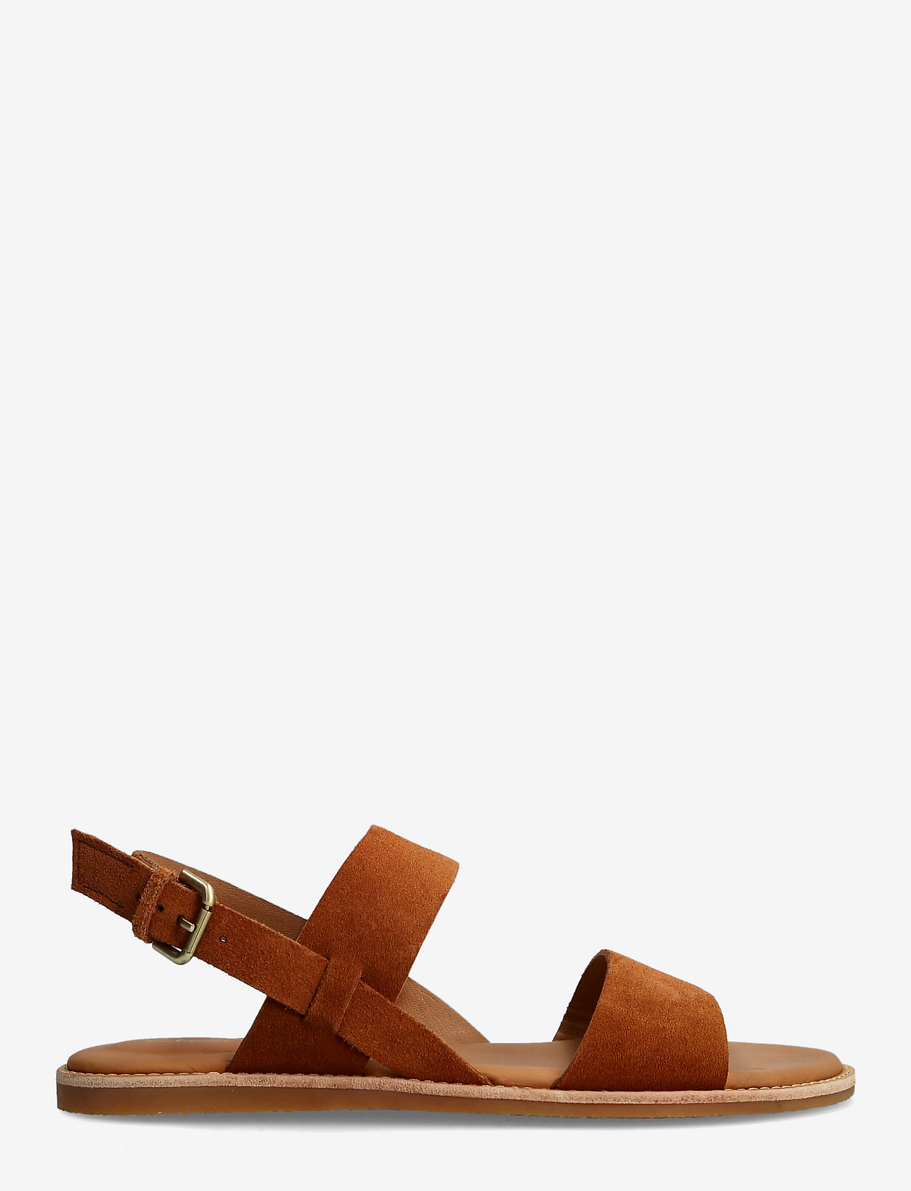 Clarks - Karsea Strap - platta sandaler - tan leather - 1