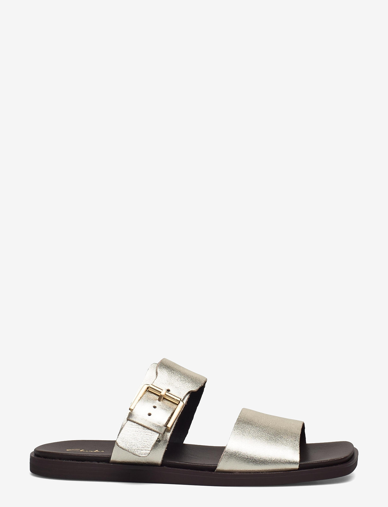 Clarks - Ofra Slide - platta sandaler - champagne - 1