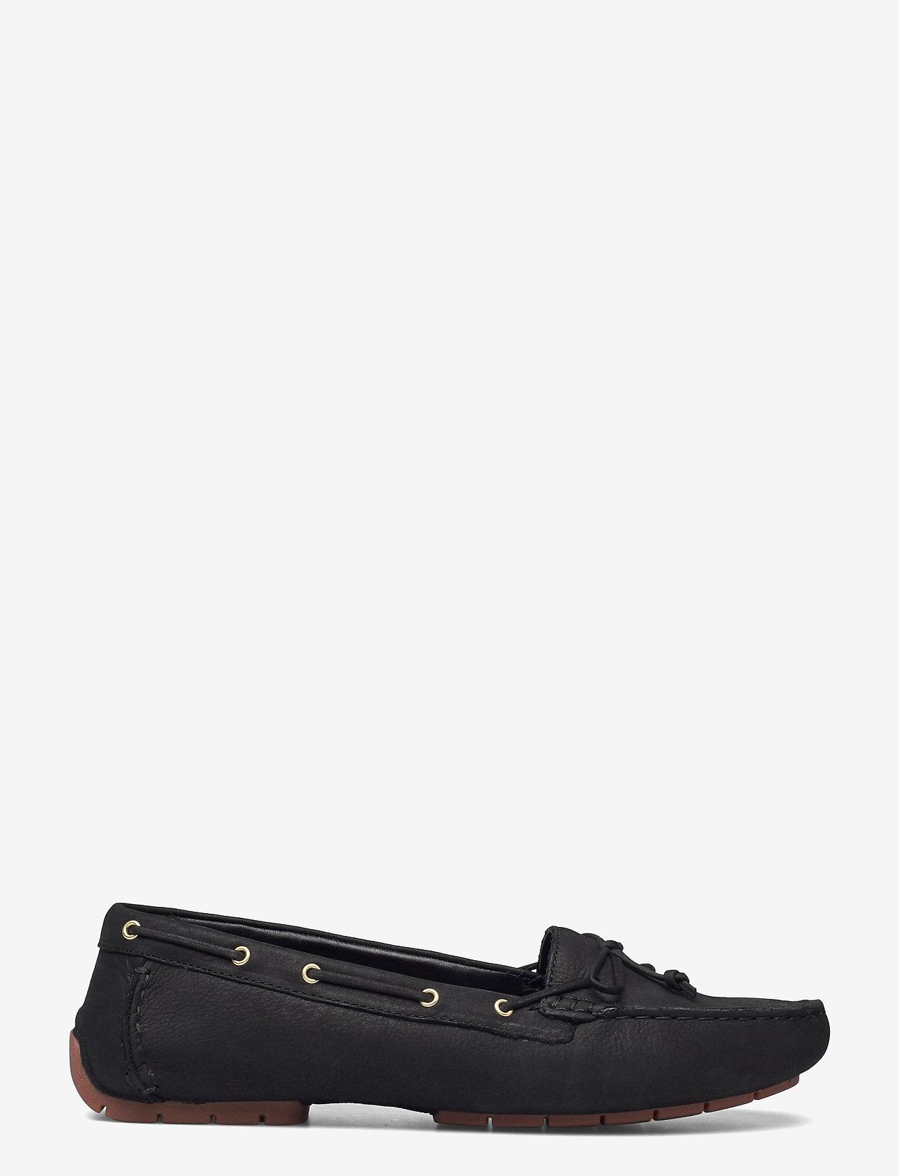 Clarks - C Mocc Boat2 - loafers - black nubuck - 1