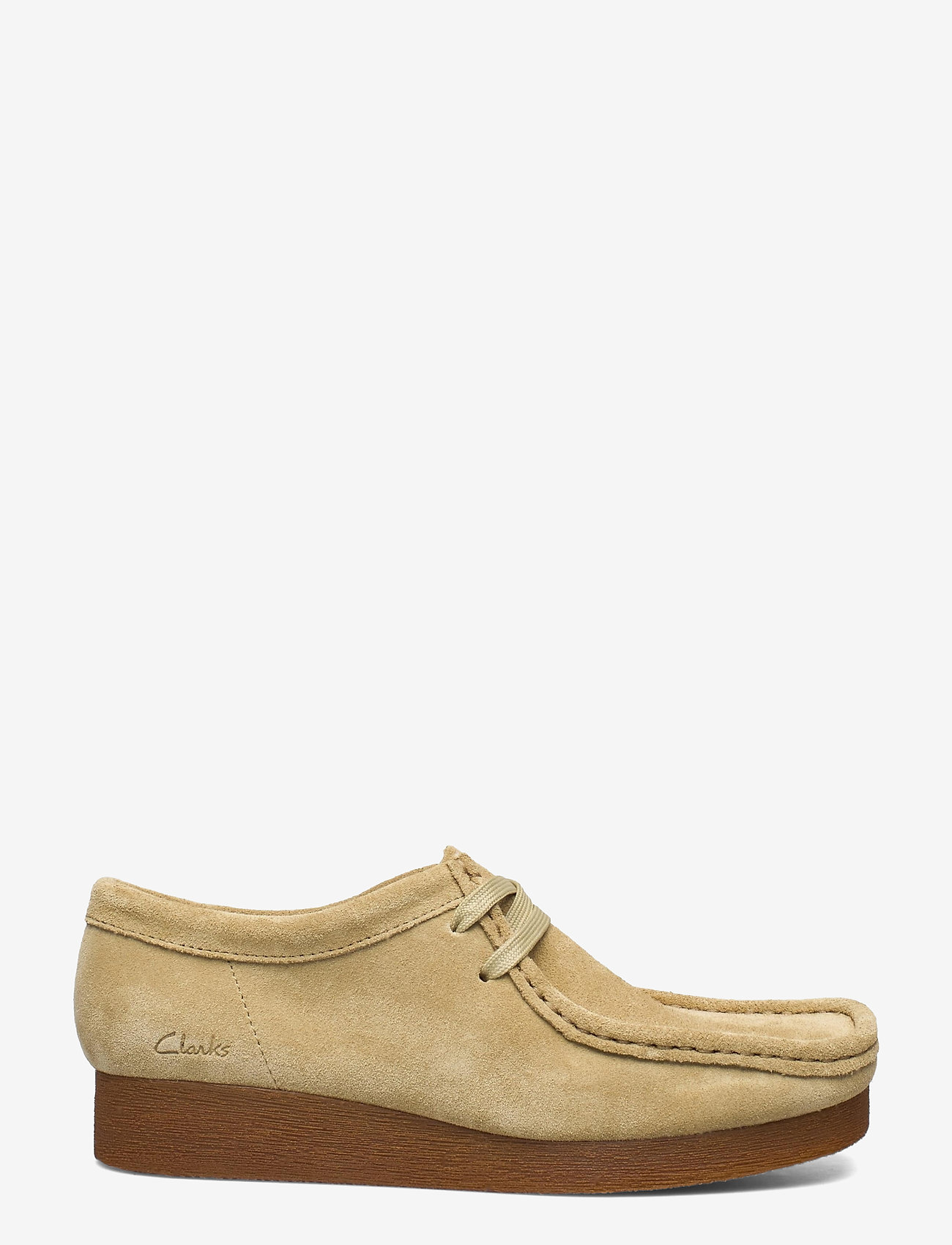 Clarks - Wallabee 2 - loafers - maple suede - 1