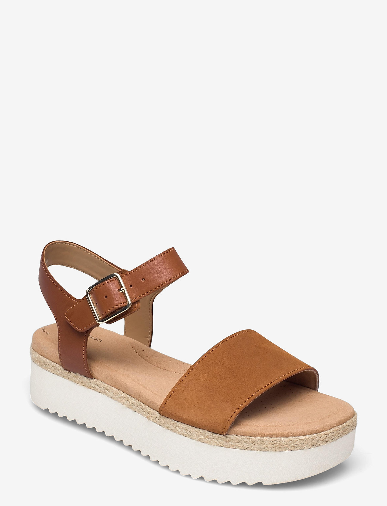 Clarks - Lana Shore - platta sandaler - dark tan - 0