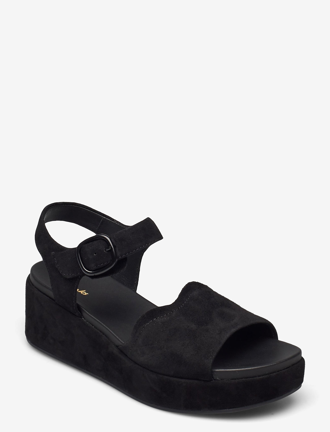 Clarks - Kimmei Way - platta sandaler - black sde - 0