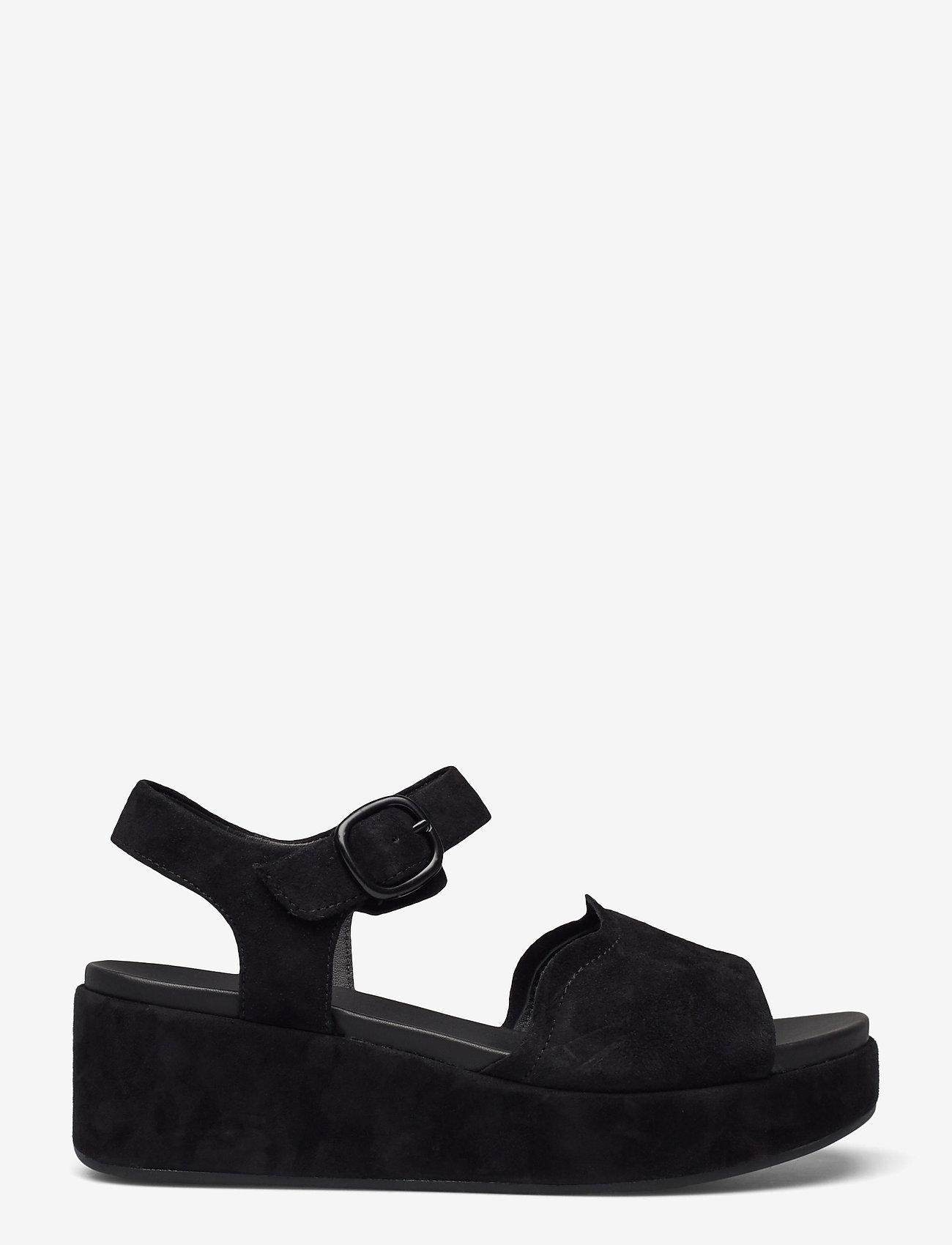 Clarks - Kimmei Way - platta sandaler - black sde - 1