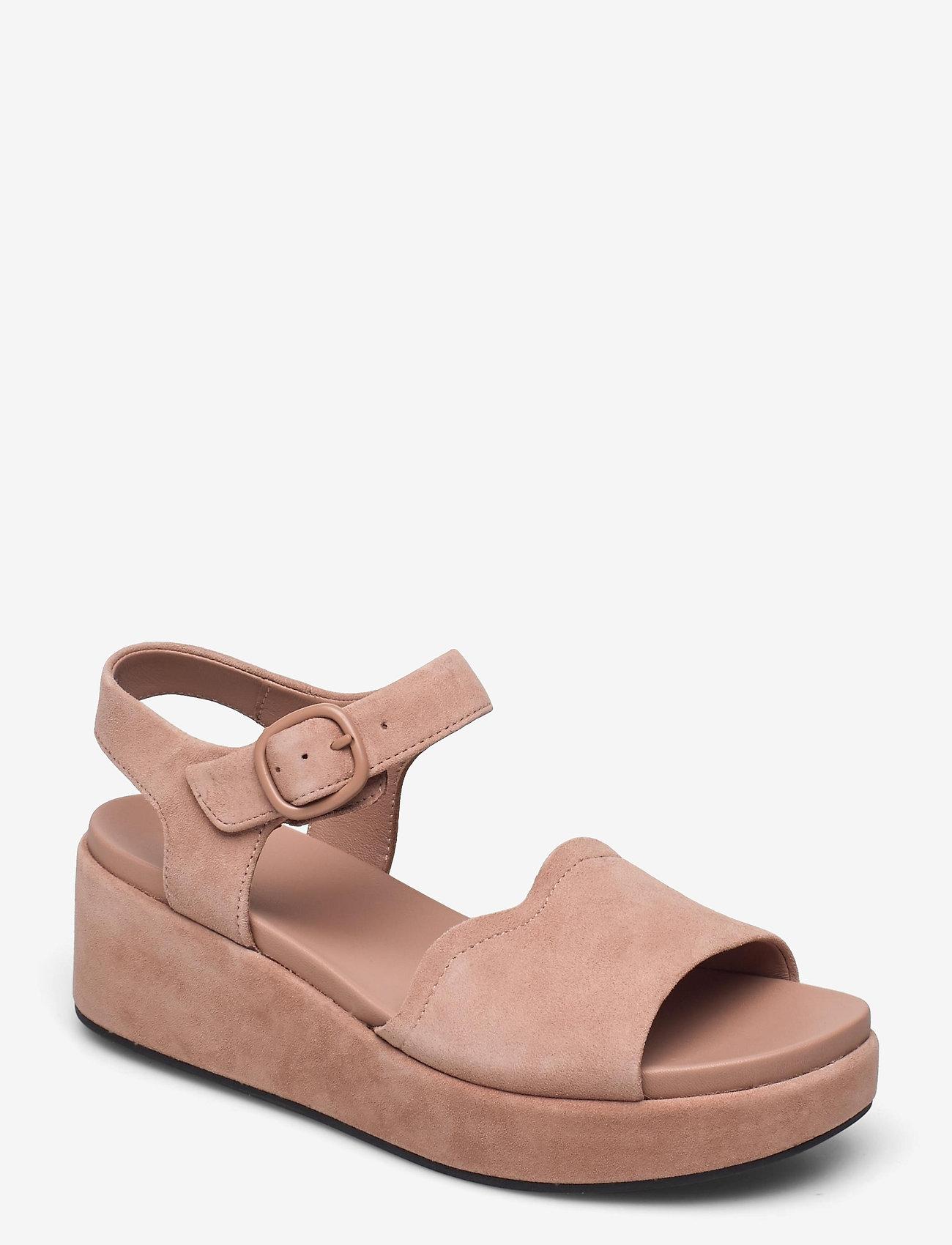 Clarks - Kimmei Way - platta sandaler - dark blush sde - 0