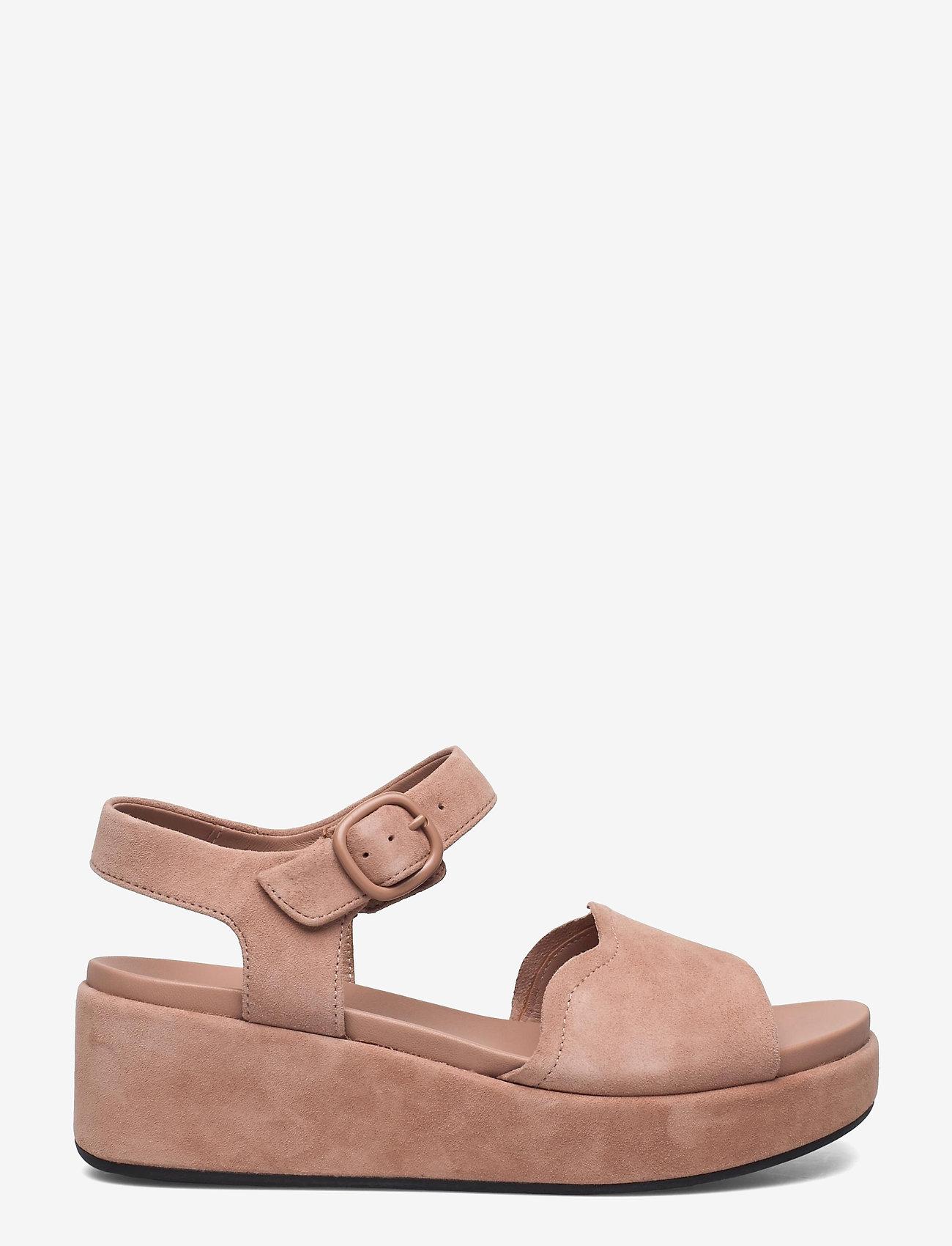Clarks - Kimmei Way - platta sandaler - dark blush sde - 1