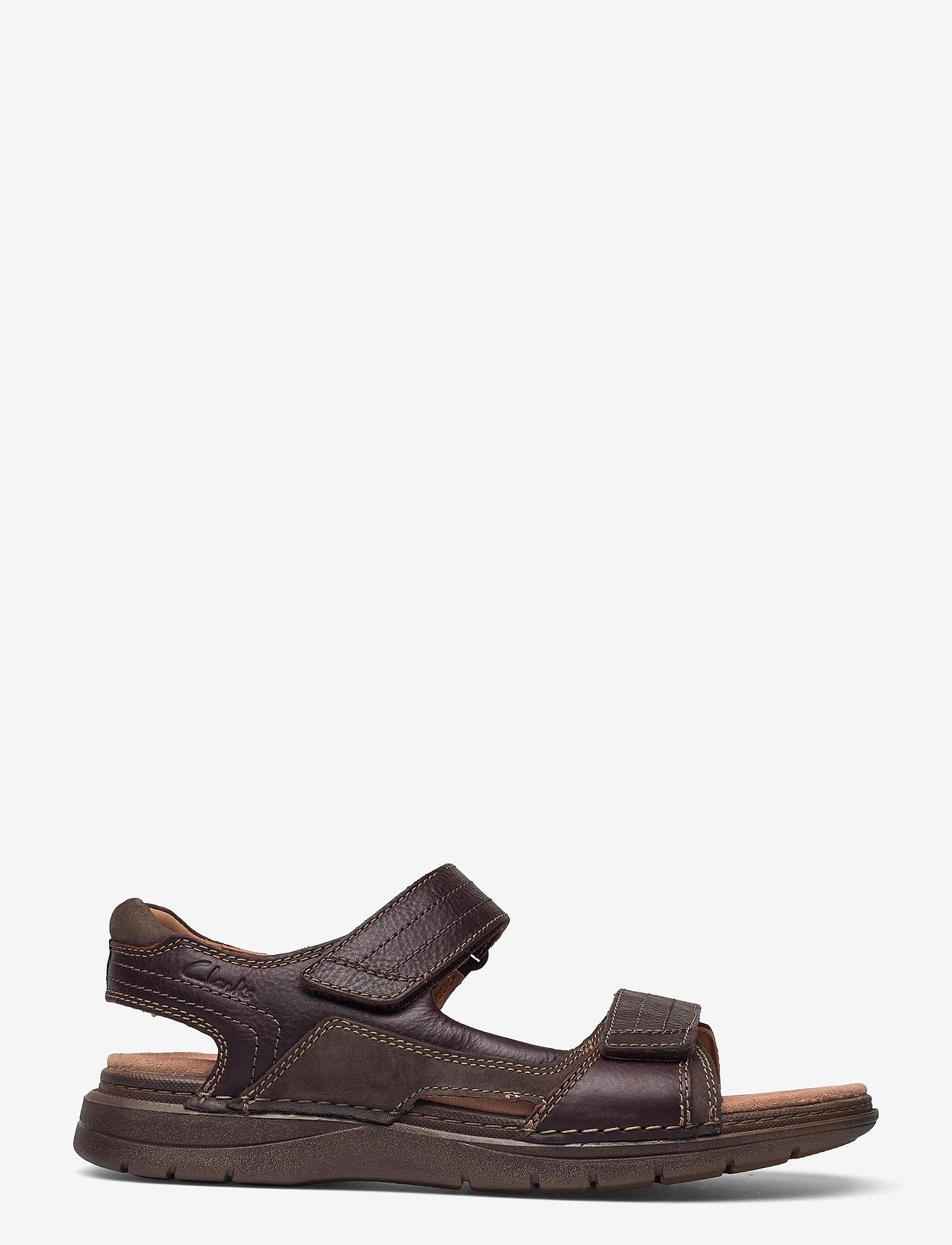 Clarks - Nature Trek - sandales - mahogany combi - 1