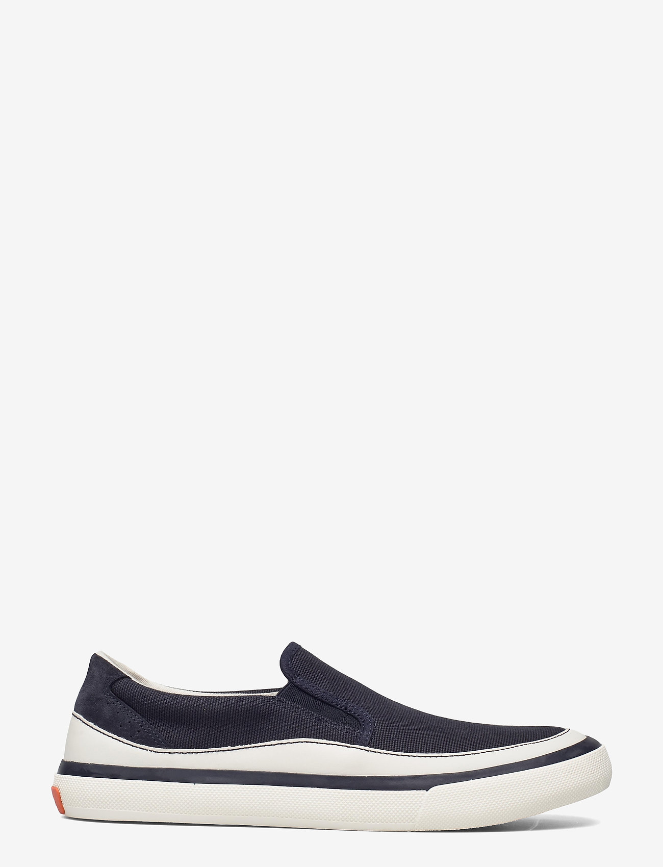 Clarks - Aceley Step - loafers - navy canvas - 1