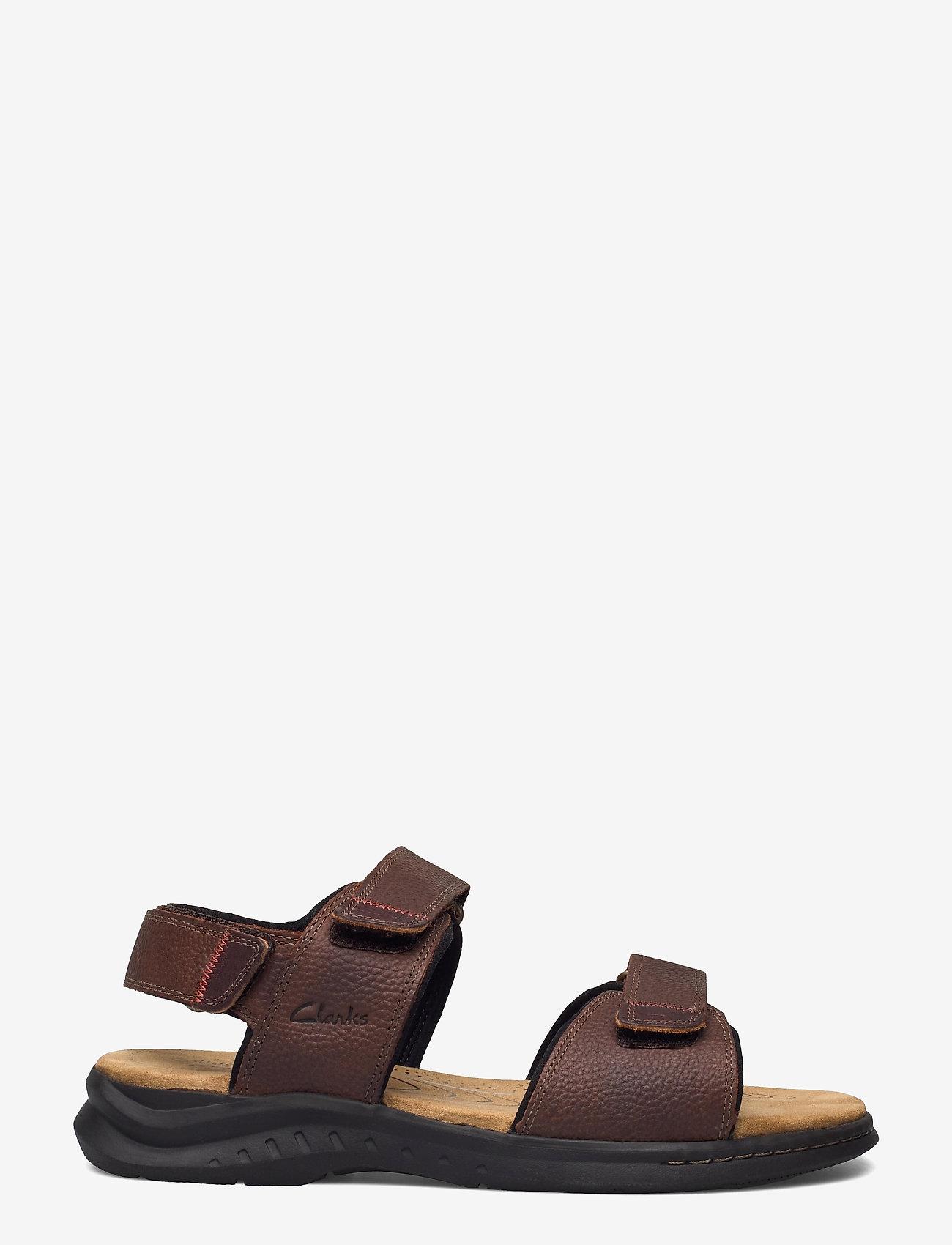 Clarks - Hapsford Creek - sandales - brown tumb - 1