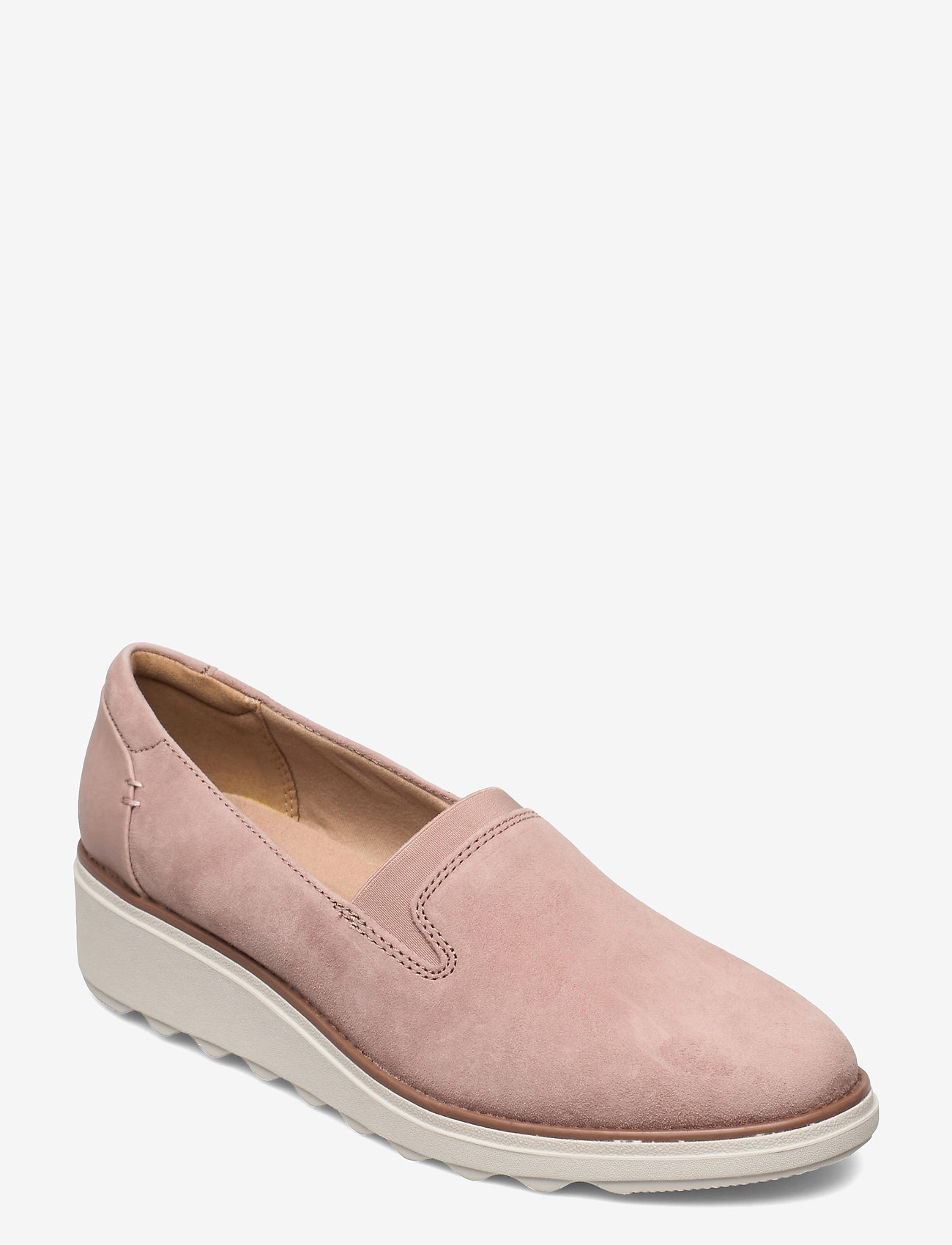 Clarks - Sharon Dolly - slip-on sneakers - dusty pink - 0
