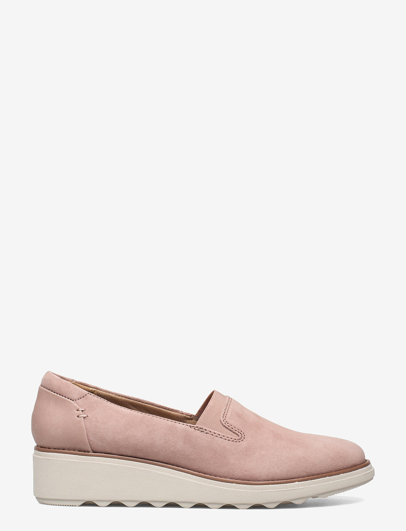 Clarks - Sharon Dolly - slip-on sneakers - dusty pink - 1