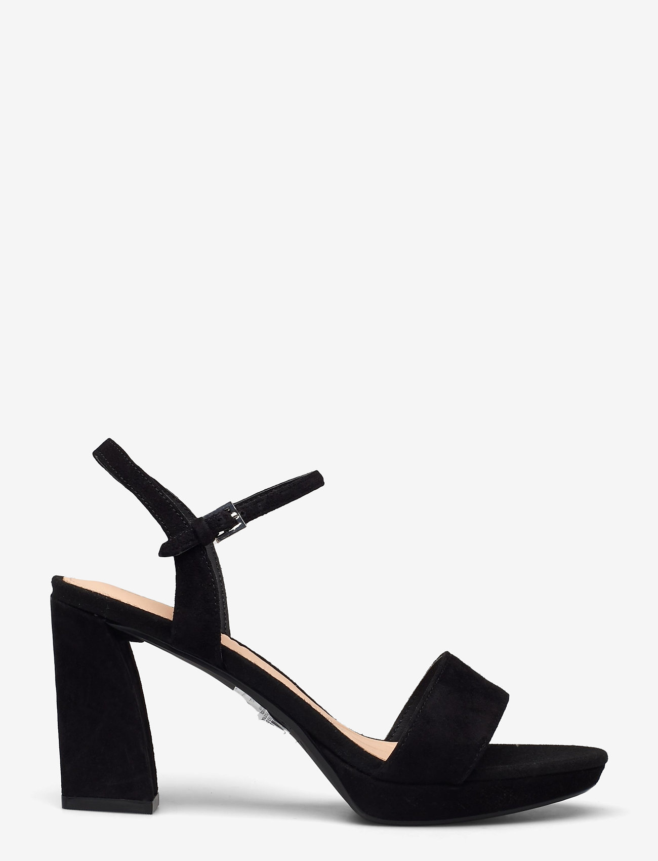 Clarks - Vista Strap - högklackade sandaler - black sde - 1