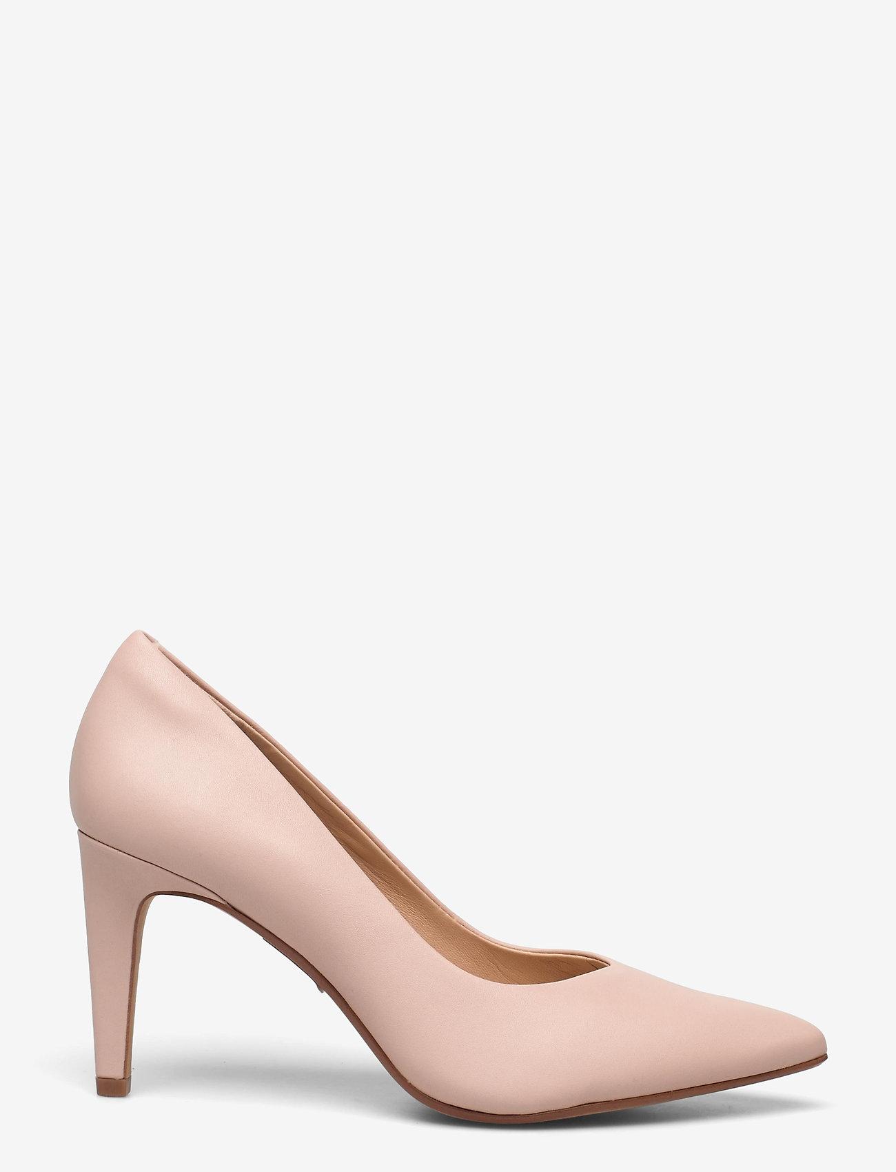 Clarks - Genoa85 Court - klassiska pumps - light pink lea - 1