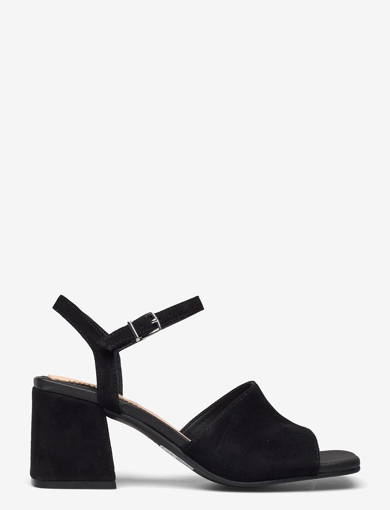 Clarks - Sheer65 Block - högklackade sandaler - black sde - 1