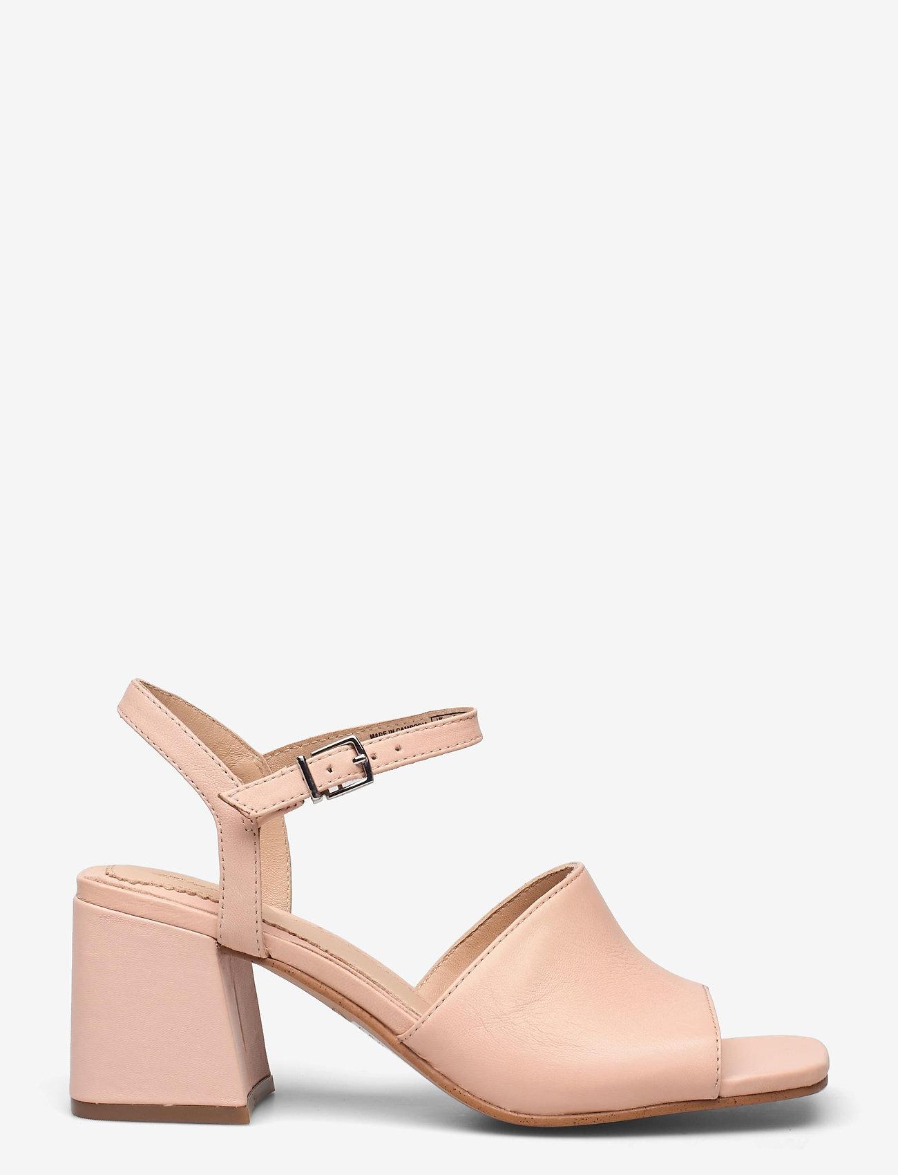 Clarks - Sheer65 Block - högklackade sandaler - light pink lea - 1