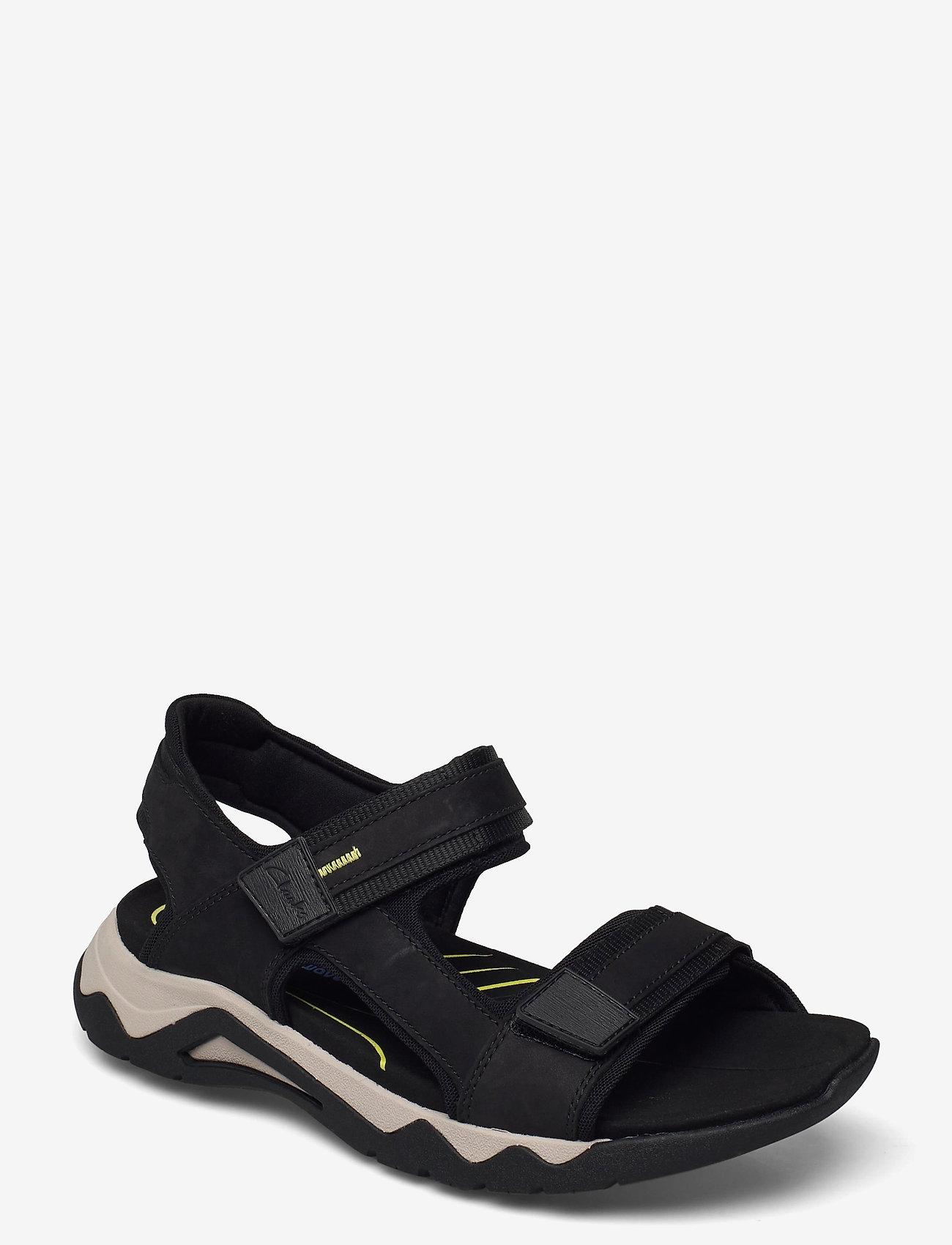 Clarks - Wave2.0 Jump - sandales - black nubuck - 0