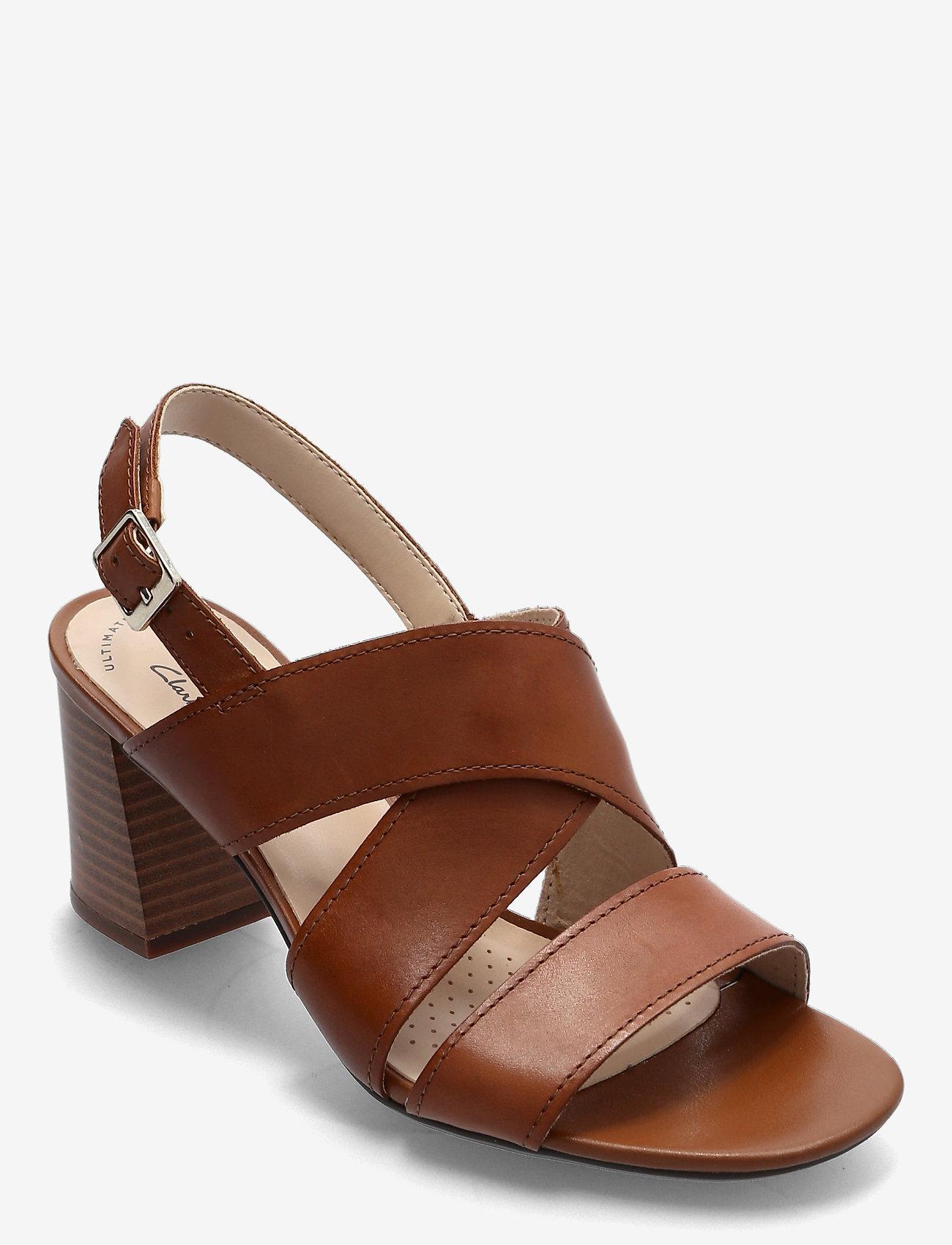 Clarks - Jocelynne Bao - sandales à talons - tan leather - 0