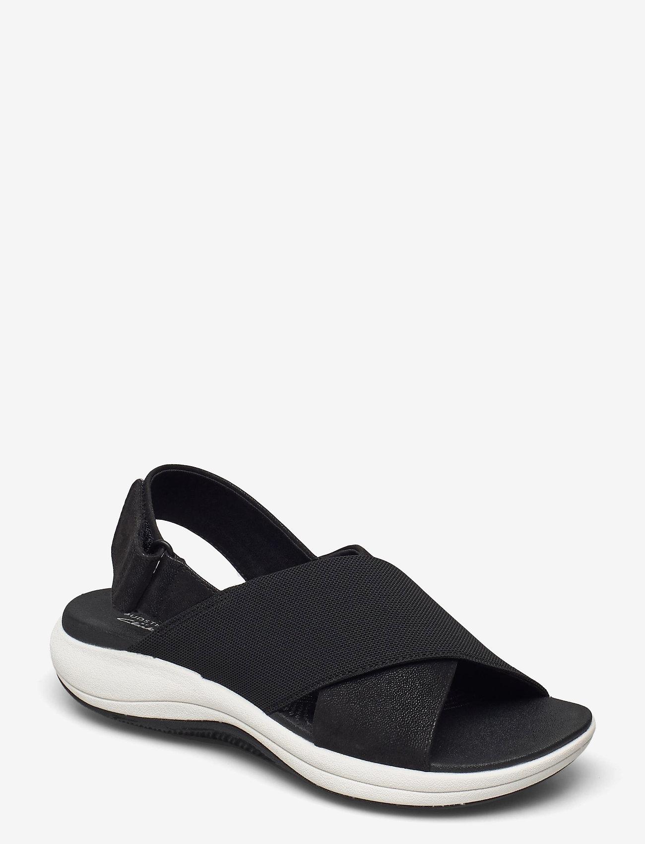 Clarks - Mira Sand - platta sandaler - black - 0