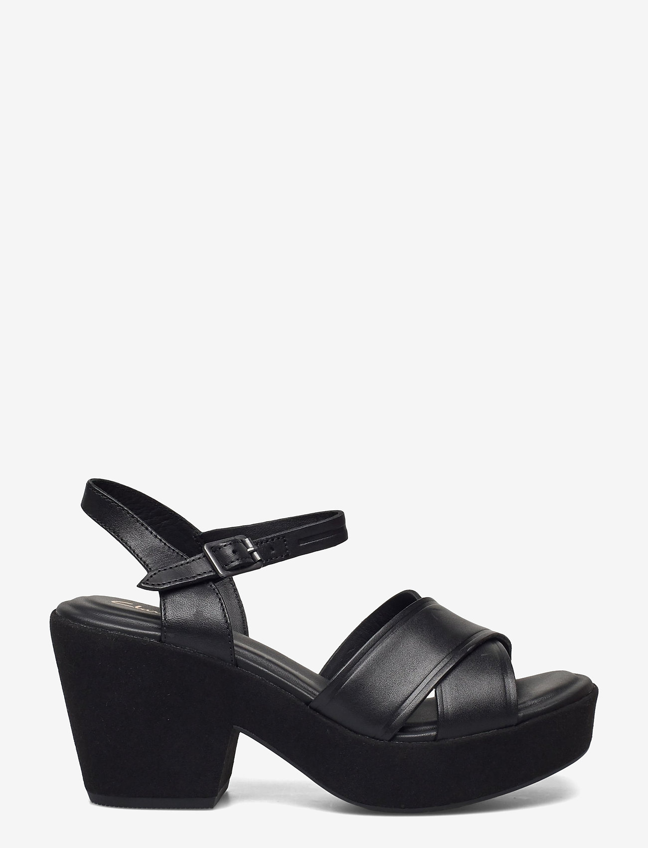 Clarks - Maritsa70Strap - kilklackar - black leather - 1