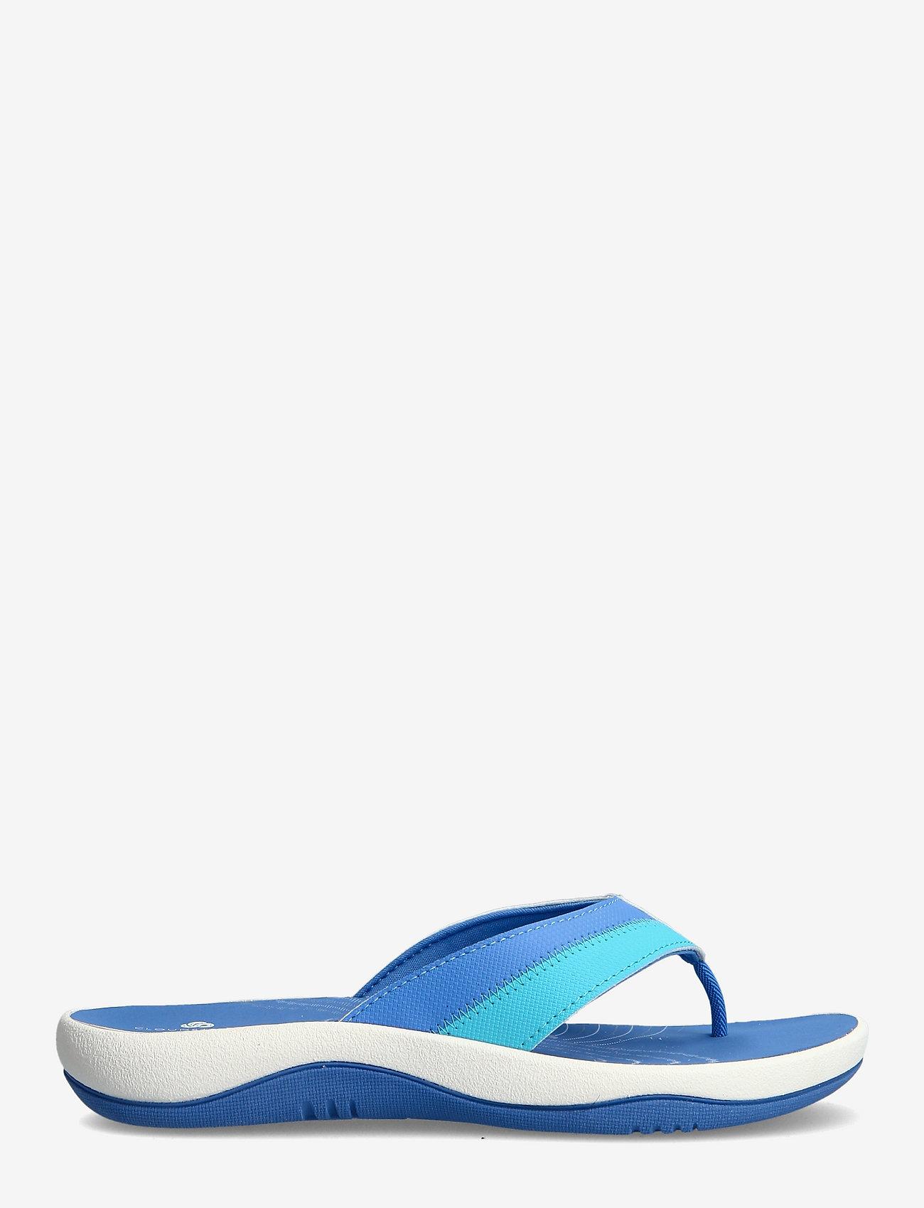 Clarks - Sunni Surf - platta sandaler - blue - 1