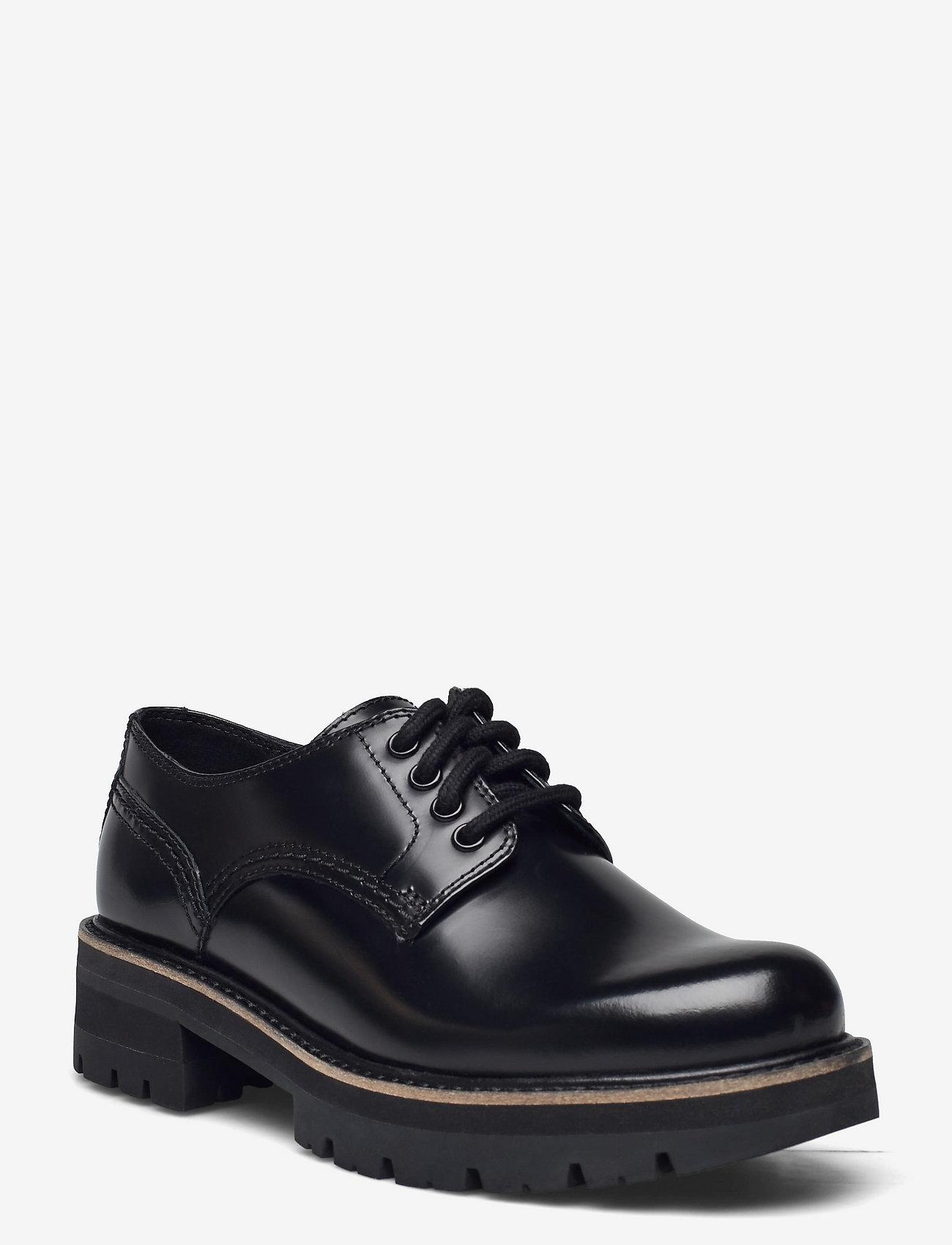 Clarks - Orianna Derby - snörskor - black hishine leather - 0