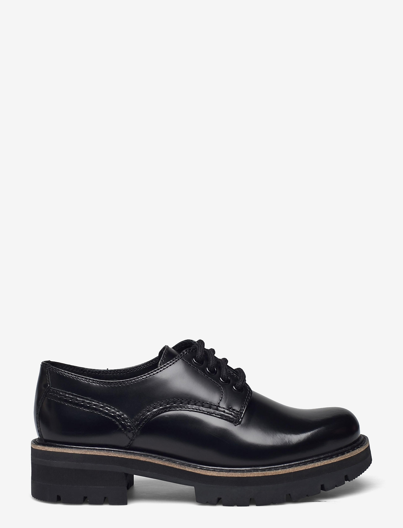 Clarks - Orianna Derby - snörskor - black hishine leather - 1