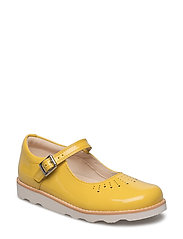 Crown Jump - Yellow Leather