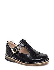 Yarn Weave - Black Leather