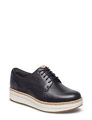 Teadale Rhea - Black Leather