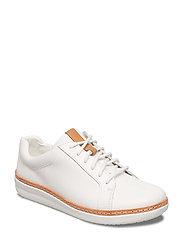 Amberlee Rosa - White Leather