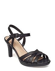 1430541567c Adriel Wavy (Black Leather) (79.95 €) - Clarks -