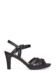 1194554c5b3b Adriel Wavy (Black Leather) (79.95 €) - Clarks -