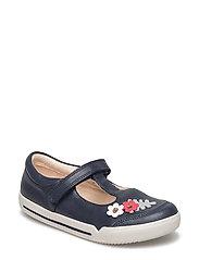 Mini Blossom - Blue Leather