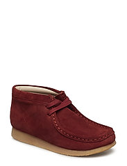Wallabee Bt.. - BURGUNDY SUEDE