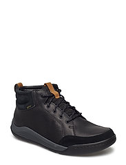 AshcombeMidGTX - BLACK LEATHER