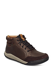 AshcombeMidGTX - DARK BROWN LEA