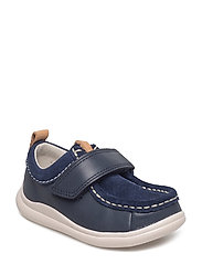 Cloud Sea - NAVY COMBI LEA