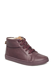 City Jungle - BURGUNDY LEATHER
