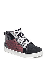 City Hero Hi - BLACK/RED
