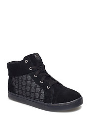 City Hero Hi - BLACK/BLK SUEDE
