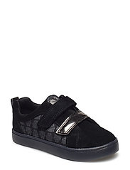 City Hero Lo - BLACK/BLK SUEDE